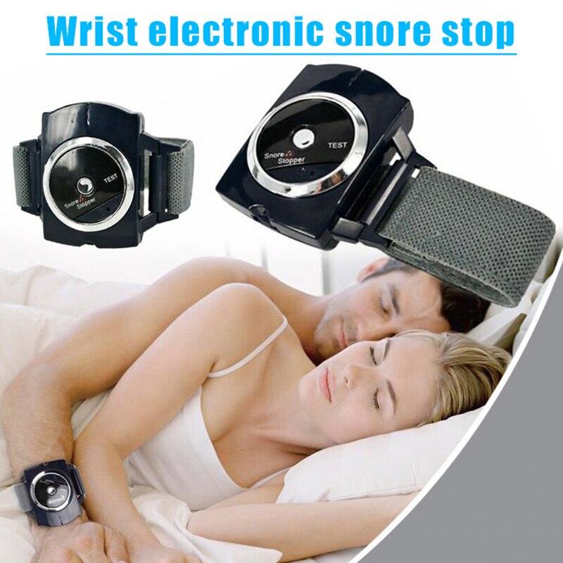 Anti-ressonar pulseira conexão do sono auto anti-snore pulseira dispositivo biosenseor relógio ressonar ajuda dormir noite guarda aid