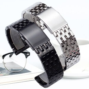 24mm 26mm 28mm 30mm Stainless Steel Watch Strap for Diesel for DZ4316 DZ7395 DZ7305 hight quality  durable men watchband
