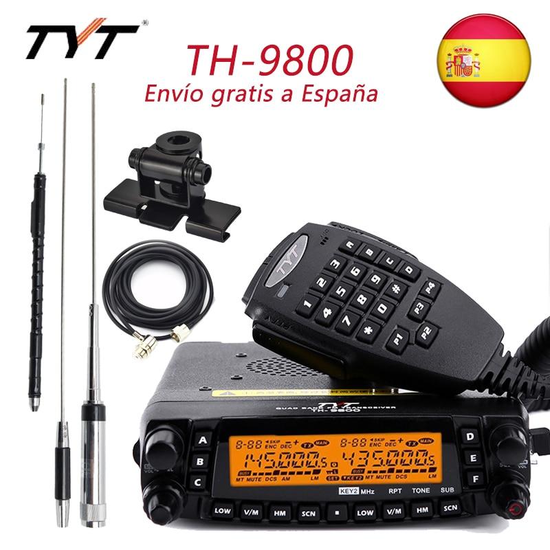 راديو المحمول TYT TH-9800 زائد رباعية الفرقة جهاز الإرسال والاستقبال TH9800 لاسلكي تخاطب سيارة شاحنة راديو مكرر تشويش إذاعي