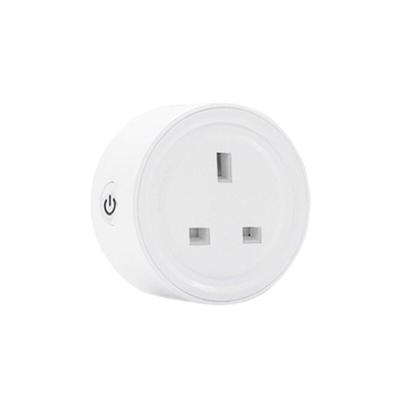 EWelink ZigBee WiFi Smart Plug 10A UK Socket Smart Home Work with Alexa Google Home Assistant Support Echo Samsung SmartThings
