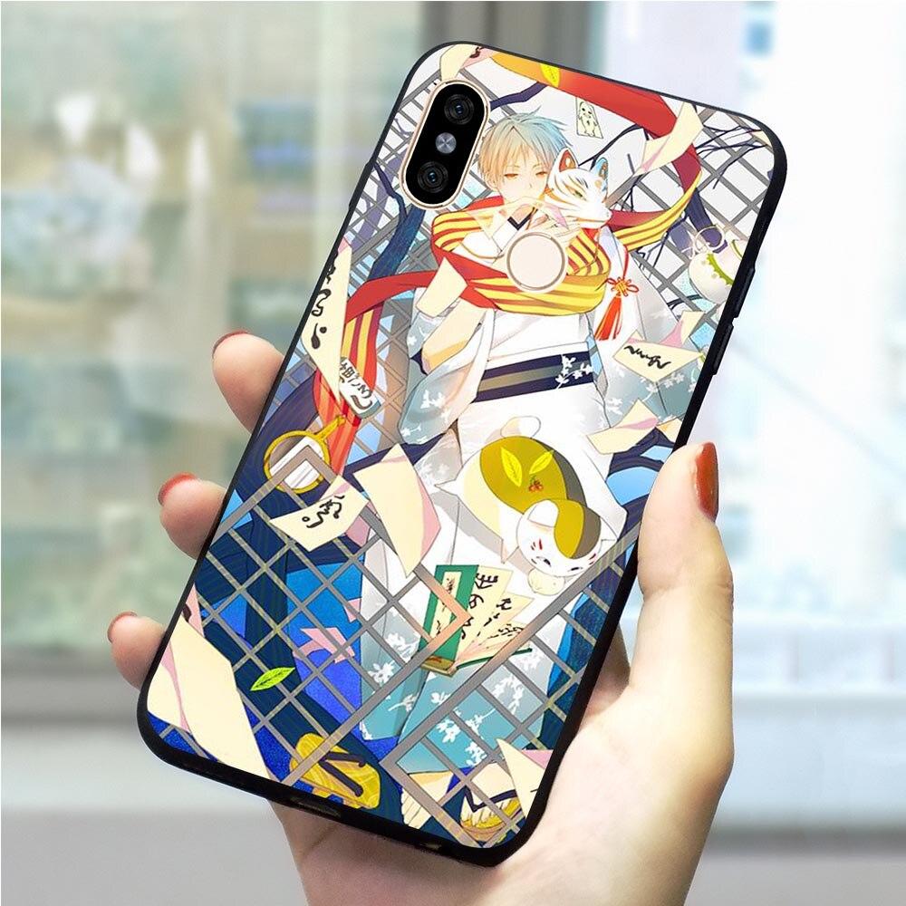 Anime Natsume Alibaba.com funda de teléfono para Xiaomi Mi 6 Mi A1 5X 6X A2 Lite 8 8SE 9 9SE 9T Pro CC9E CC9 A3 Pro teléfono móvil F1
