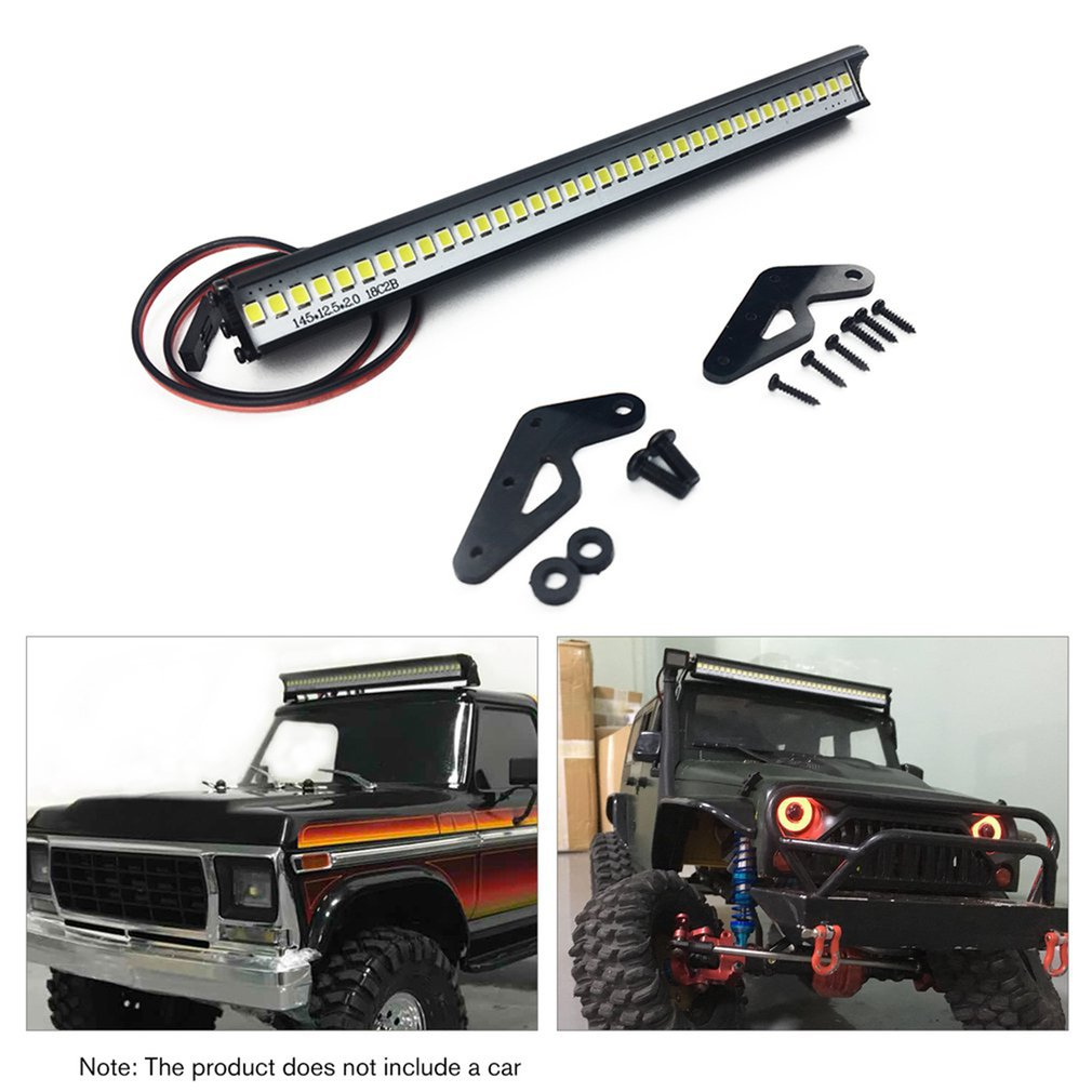 148MM Super Bright 36 LED Lights Bar for 1/10 RC Crawler Car Axial SCX10 90046 D90 Traxxas TRX4