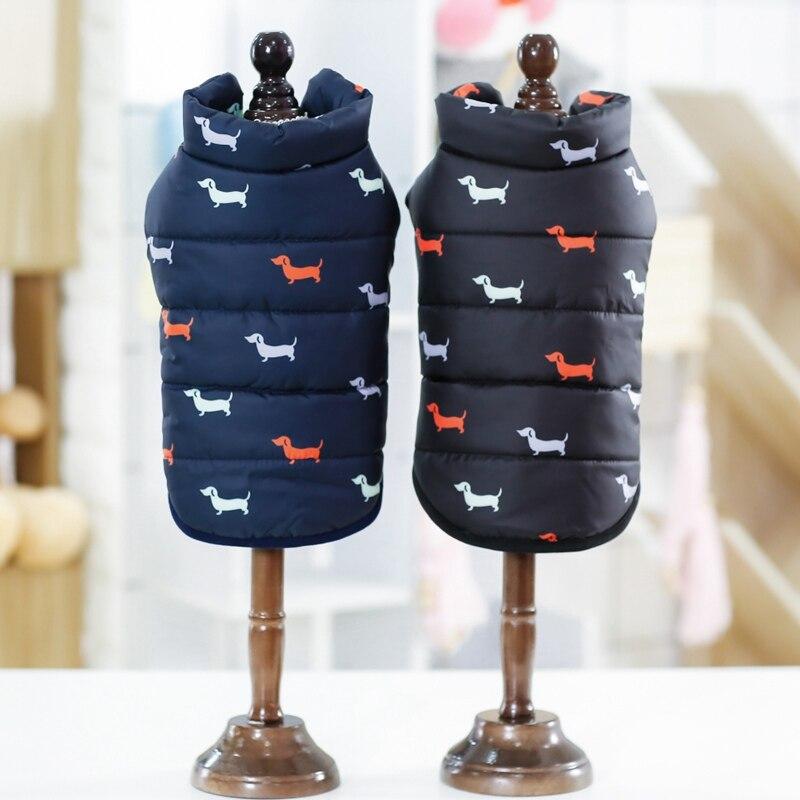 Ropa de otoño invierno Cool perro mascota cálido paño estilo británico chaqueta abrigos con Cuello de piel pequeños perros medianos ropa para mascotas