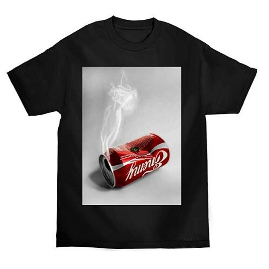 Enemigo del Estado de los hombres de camiseta de manga corta negro camiseta camisetas ropa para los jóvenes medio-viejo edad camiseta