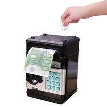 ATM الادخار البنك الإلكترونية الصغيرة ATM حصالة على شكل حيوان النقدية عملة التعليمية ATM آلة صندوق الأمان المال للفتيات هدية عيد ميلاد