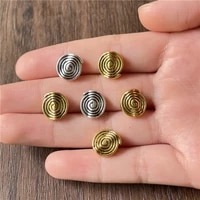 junkang 15pcs popular fashion new thread perforated spacer connector jewelry making diy handmade bracelet necklace accessories