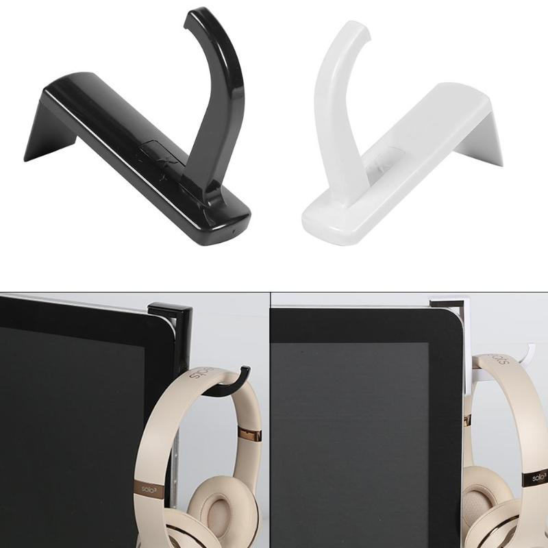 Universal Headphone Holder Hanger Wall Hook PC Monitor Headset Stand Rack