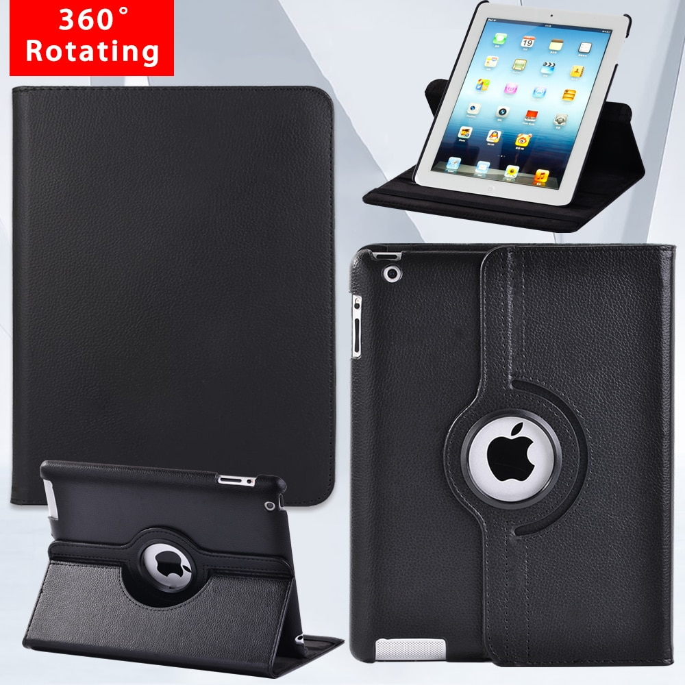 protective rotation pu leather case for google nexus 7 purple For Apple Ipad 2/3/4 9.7 Inch 360 Degrees Rotation Case Automatic Wake-up Pu Leather Tablet Protective Cover+pen