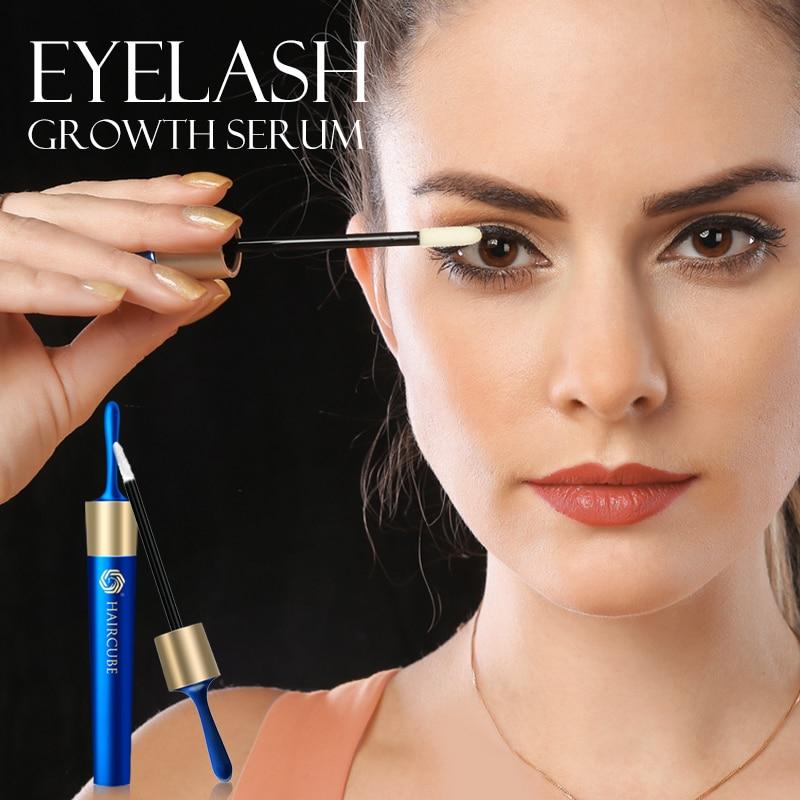 HAIRCUBE Eyelash Growth Serum Eyelash Nourishing Essence for Eyelashes Growth Enhancer Lengthening Thicker Eyebrow Growth