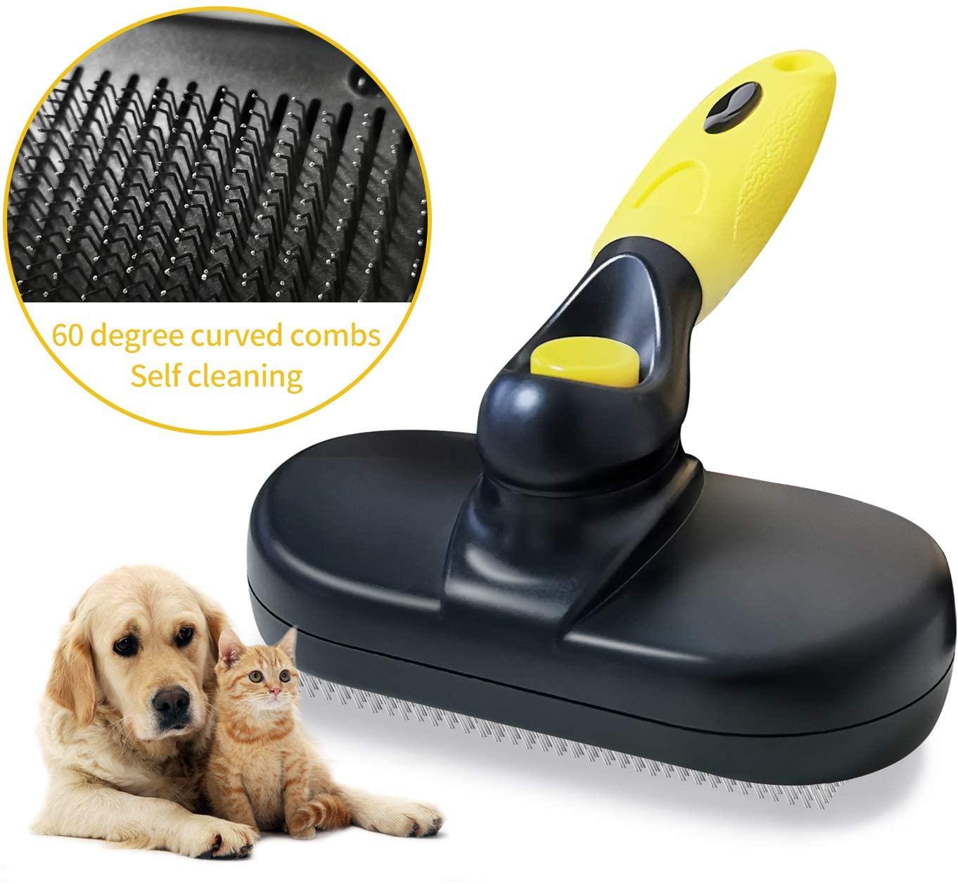 Cepillo de peluquería para perros con cepillo de pelo corto a largo que elimina el suministro de cepillo de pelo para mascotas para perros grandes