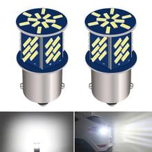 2x1156 P21W BA15S samochodowa żarówka LED światło cofania dla opla Astra H J G Corsa D C Insignia Vectra B Zafira Mokka Meriva Vivaro Antar