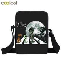 Alien prédateur sacs à main Avp visage câlin sacs à bandoulière femmes Mini sac de messager dames sac à bandoulière pour voyage petit cartable cadeau