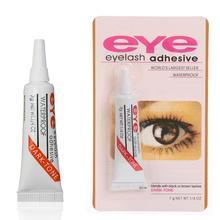 1PC False Eyelashes Makeup Adhesive False Eyelash Glue Clear-white Dark-black Waterproof Eye lashes