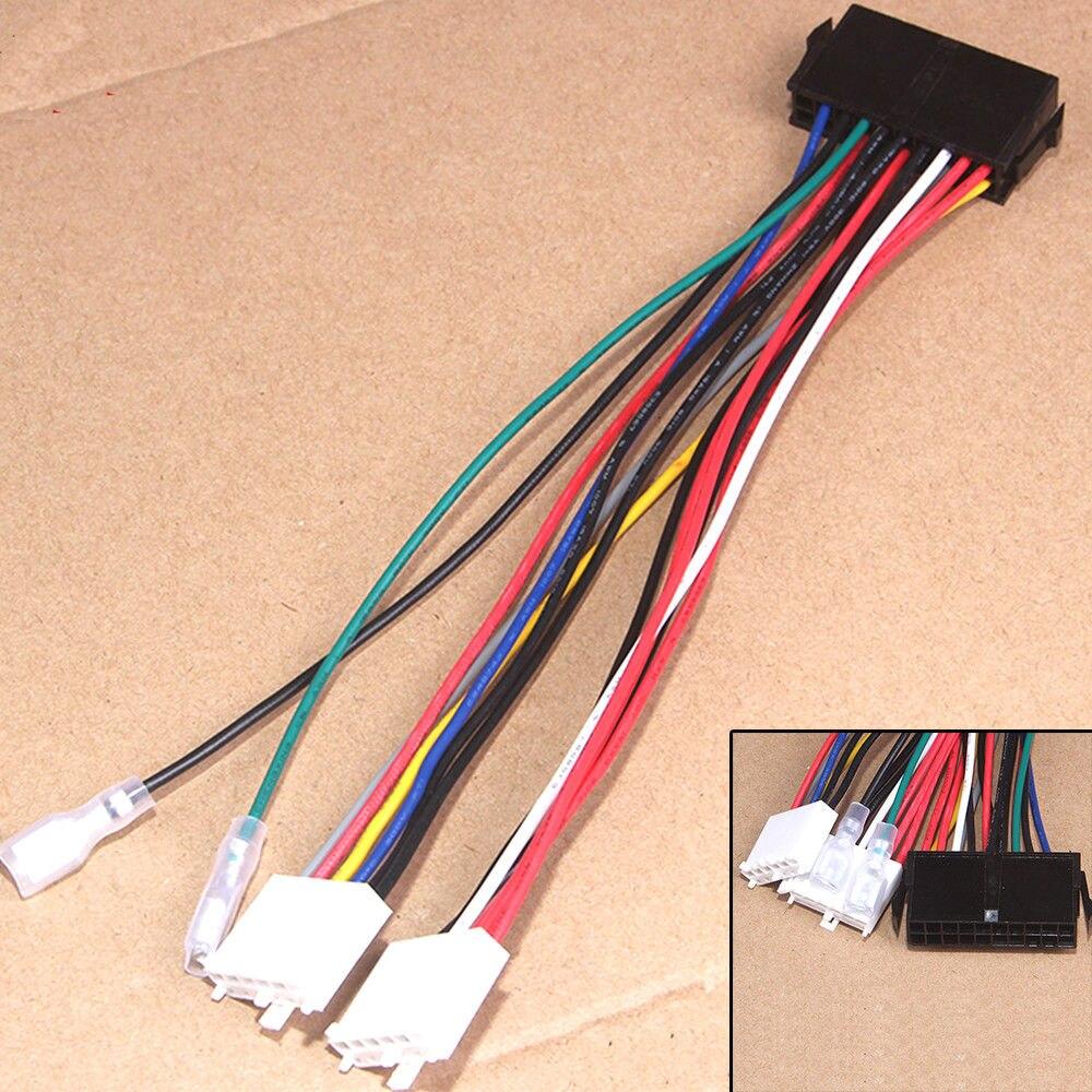20P ATX a 2 puertos 6Pin en el Cable de alimentación del convertidor de PSU para la computadora 286 386 486 586