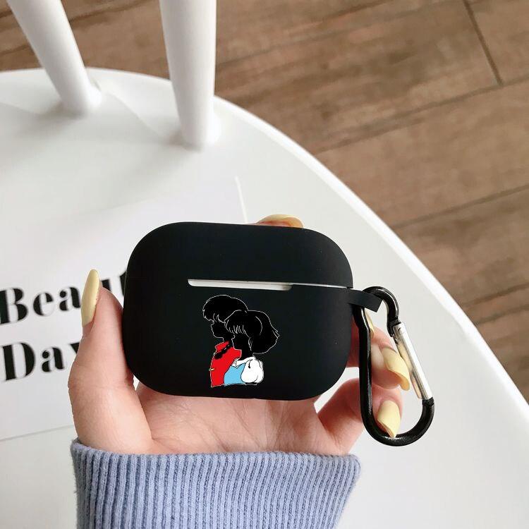 Чехол для наушников аниме Inuyasha, чехол для Airpods Pro, чехол для беспроводного Bluetooth Apple Airpods Pro, чехол, силиконовый чехол чехол