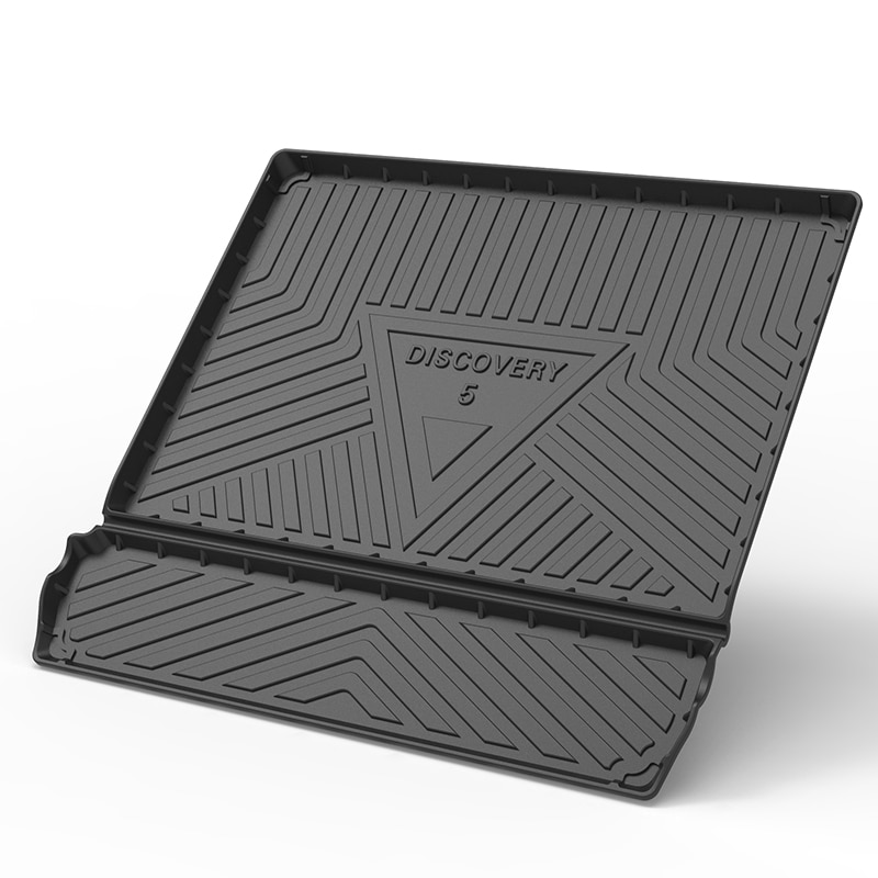 For Land Rover Discovery  LR3 LR4 LR5 TPO Trunk Mats Custom Black Heavy Duty Cargo Waterproof Durable Floor Mats Car Accessories