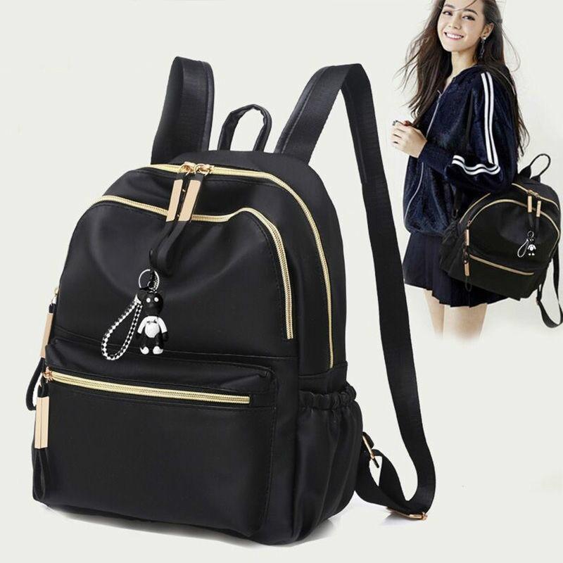 Design Big Capacity Bags 3 Layer Nylon Handbag Women Backpack Fashion Female Backpacks Ladies Bagpack Shoulder Bag Satchel Bolsa