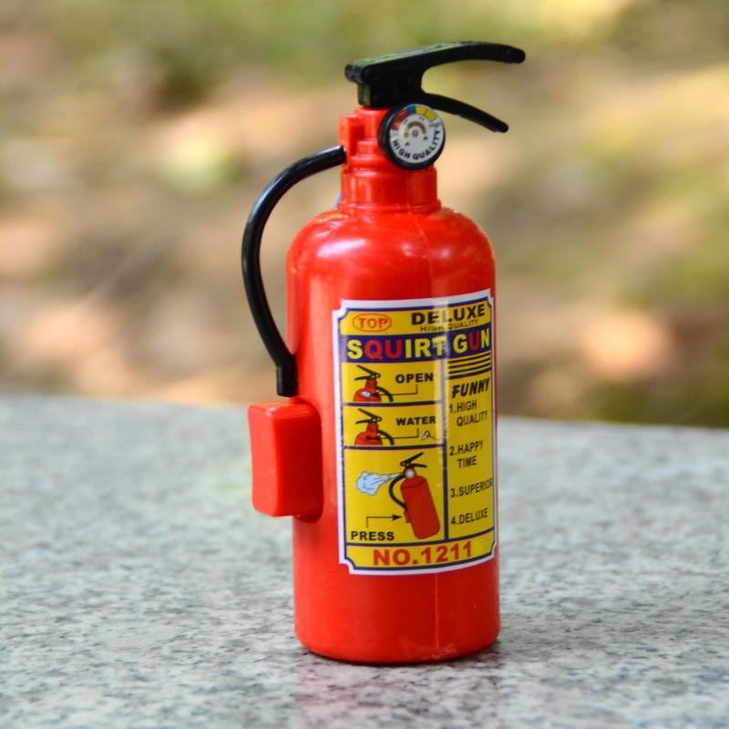 Забавные мини-огнетушители, игрушка для розыгрыша, спрей для воды, профессиональный реквизит для детей, пожарников