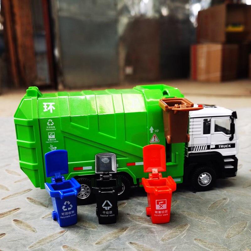 150 modelo de caminhao de lixo saneamento com retracao em liga metalica simulacao