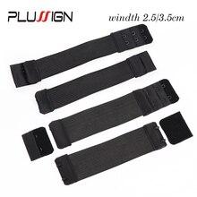 Plussign-bande élastique ajustable à coudre   Pour la fabrication de perruques, outils à haute élasticité, respirables, 2.5Cm, 3.5Cm de largeur deux types