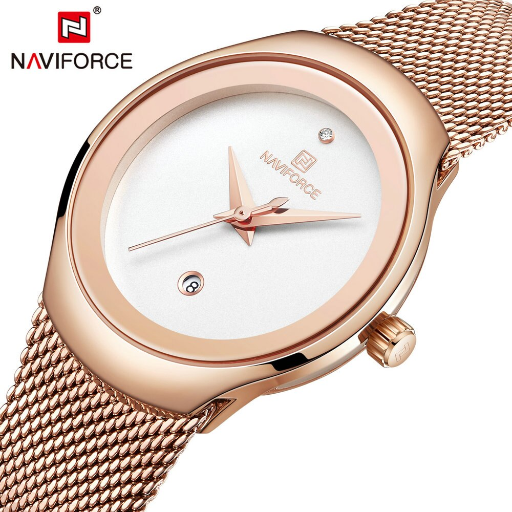 NAVIFORCE Sport Watch for Women Fashion Luxury Watches Top Brand Elegant Ladies Wristwatch Casual Quartz Clock zegarek damski