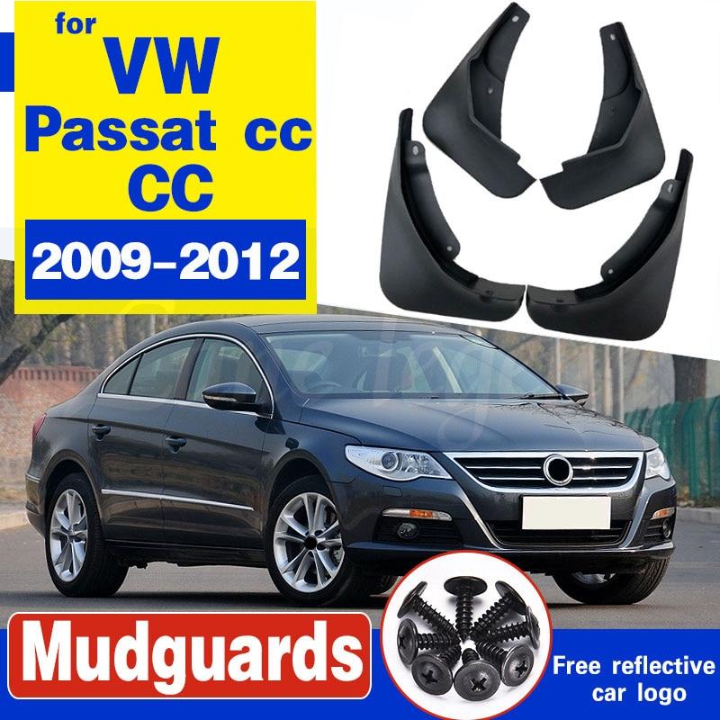 Para Volkswagen VW Passat CC 2009 ~ 2017 guardabarros barro guardia Splash solapa accesorios guardabarros 2010, 2011, 2012, 2013, 2014, 2015