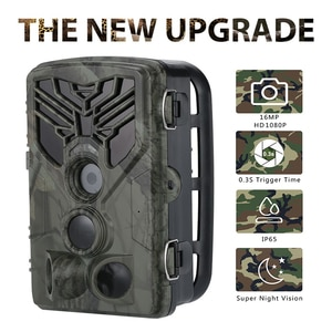 16MP 1080P Hunting Trail Camera HC810A Wildlife Cameras Infrared Night Vision Wild  Photo Traps Surveillance Tracking