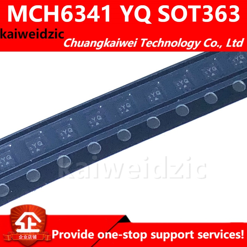 Mch6341 impressão de tela de seda yq sot363 single p-channel potência mosfet transistor/circuito integrado/componentes eletrônicos
