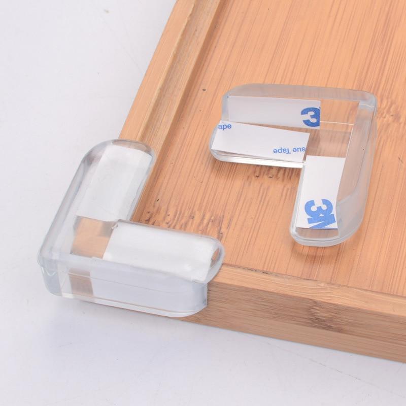 2/4 шт Прозрачный детский силиконовый защитный уголок для стола защита от антиколлизии для детей Защита углов безопасности