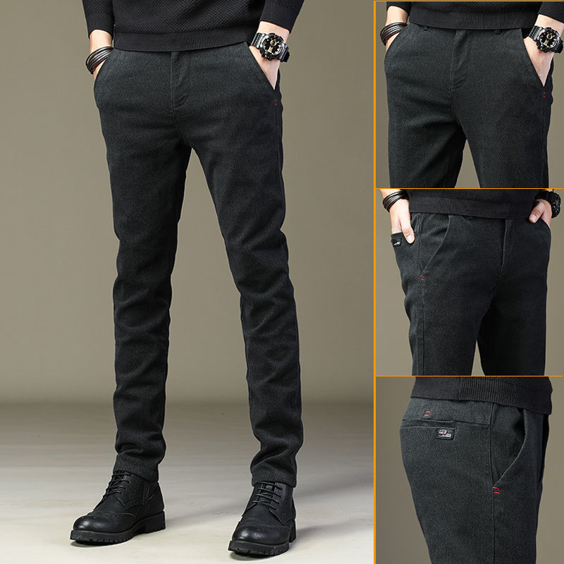 Мужские спортивные штаны, весна-осень 2020, хлопковые мужские джоггеры, мужские повседневные брюки, прямые брюки-трубы, тянущиеся строки для м...