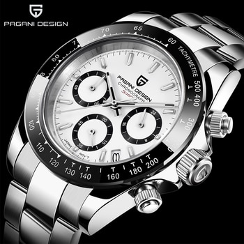2021 PAGANI DESIGN Brand Chronograph Sports Watches Mens Luxury Brand Quartz Waterproof 100M Watch Relogio Masculino+Box PD-1644
