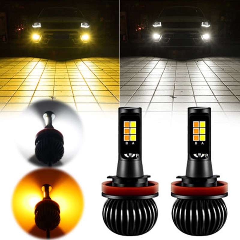 Luz LED antiniebla JGAUT H1 H3 H4 H7 H8 H9 H11 9006 HB4 880, luces antiniebla universales para coche