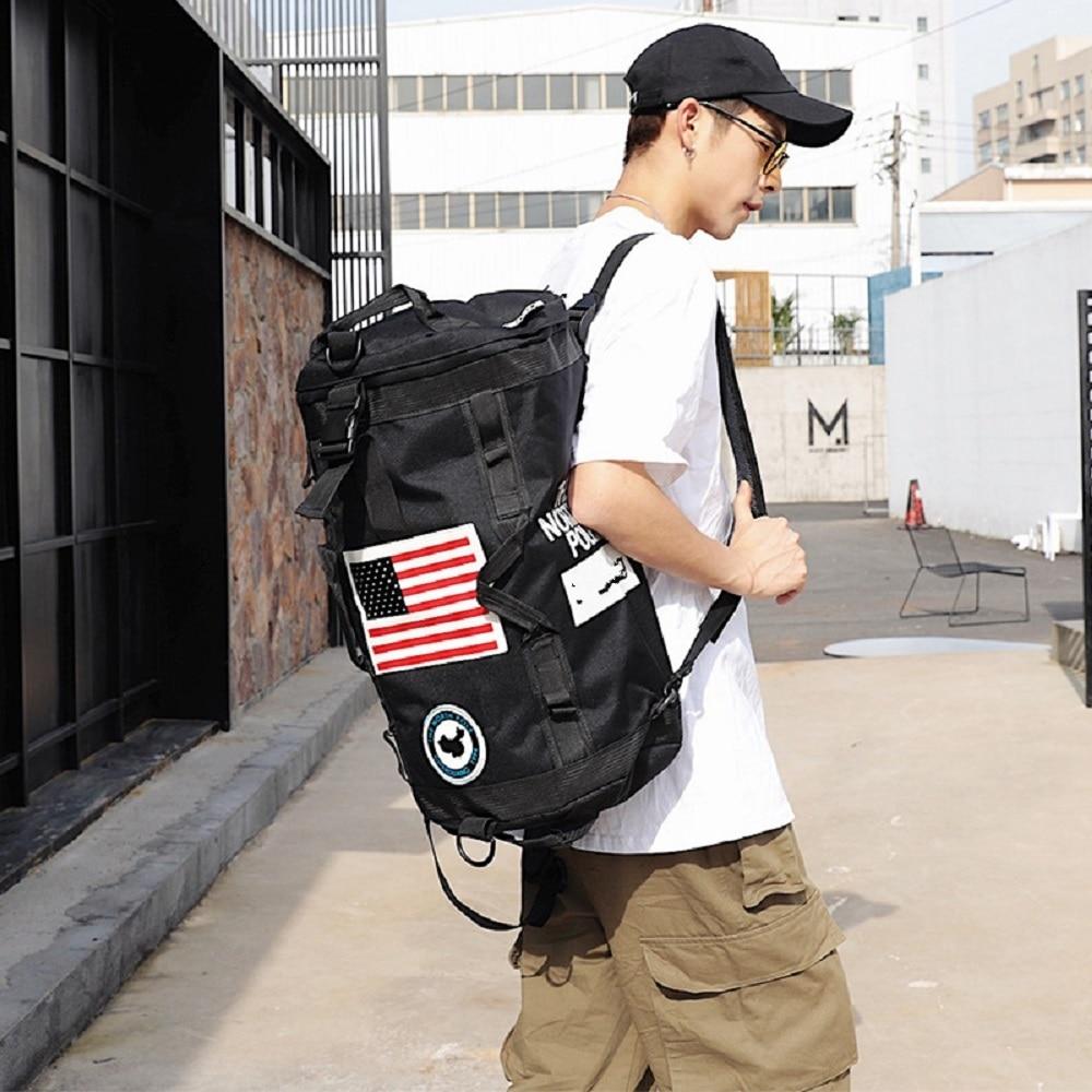 Модный брендовый Большой Вместительный рюкзак для путешествий на открытом воздухе