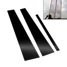 Полоса на Автомобильное Зеркало для BMW X1 X3 13 21, наклейка из углеродного волокна с защитой от царапин