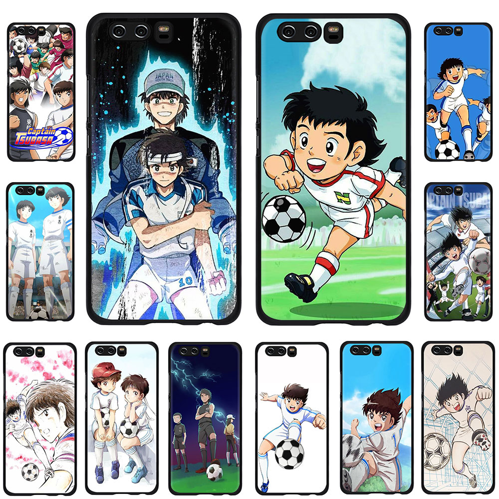 Capitán Tsubasa Ozora Genzo fútbol caja del teléfono TPU para Huawei Honor 6A 7X 8A 8X 8C 9X 8 9 10 20 30 V30 Pro Nota 10 vista