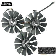 PLD09210S12HH pour ASUS Strix GTX 1060 OC 1070 1080 1080Ti RX 480 T129215SU 87MM carte graphique refroidisseur ventilateur de refroidissement FDC10U12S9-C