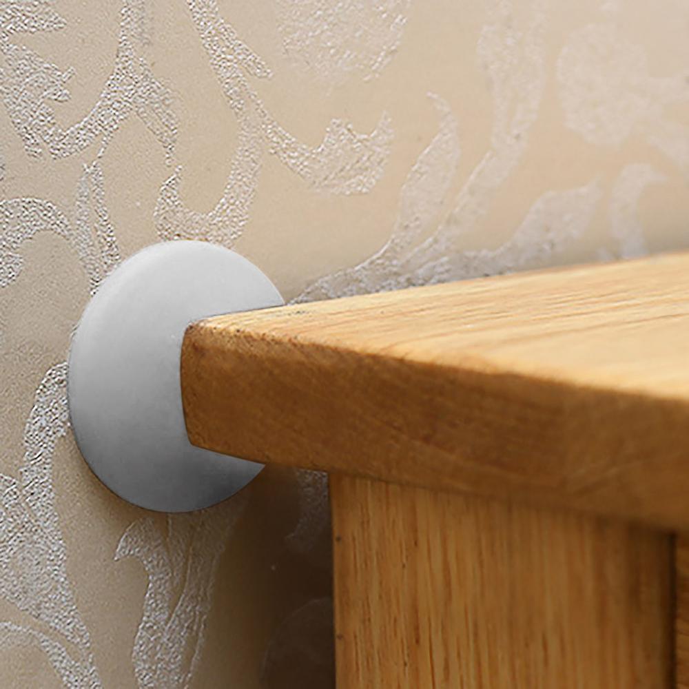 Home Supplies Decorations Rubber Home Door Doorknob Back Wall Protector Savior Shockproof Crash Pad SWWQ