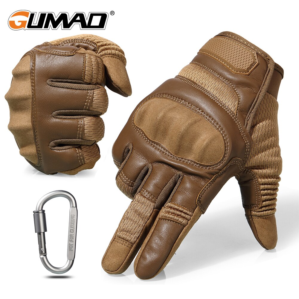 Touch Screen Hard Knuckle Tactical Gloves Army Military Combat Airsoft Outdoor Climbing Shooting Paintball Full Finger Glove Men