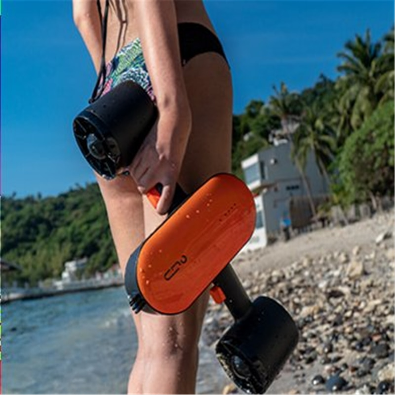 Electric Sea Scooter Kayak Underwater Water Scooter Motor Scuba Diving Water Sports Play Equipment for Swimming Pool Fishing