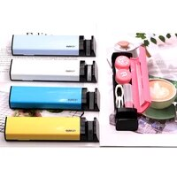 COLOUR MAX High Quality Contact Lens Case Container With Mirror Box for Contact lens Used as Phone Hold
