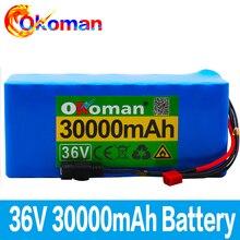 Batterie dorigine 36V 10S4P 30Ah 36v 18650 batterie pack 500W 42V 30000mAh pour vélo électrique Ebike avec BMS