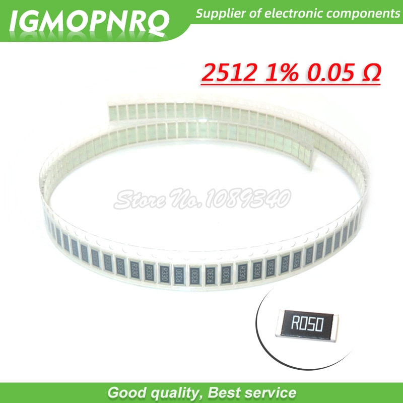 50PCS 2512 SMD Resistor 1% W 0.05R 1 0.05 ohm 50mR R050 IGMOPNRQ