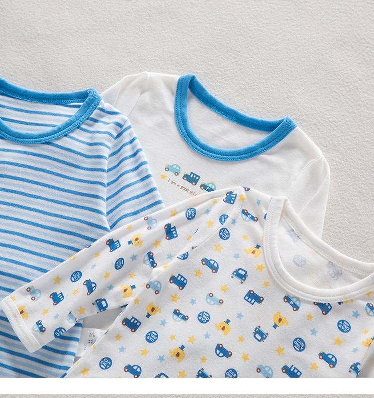Spring and Autumn New Baby Boy Autumn Clothes Long Trousers Thin Section Boy Long-sleeved Home Wear