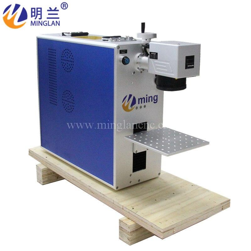 Máquina de marcado portátil 30w 110*110mm máquina de marcado láser de fibra Raycus 50W 30W 20W CNC máquina de marcado láser portátil de fibra