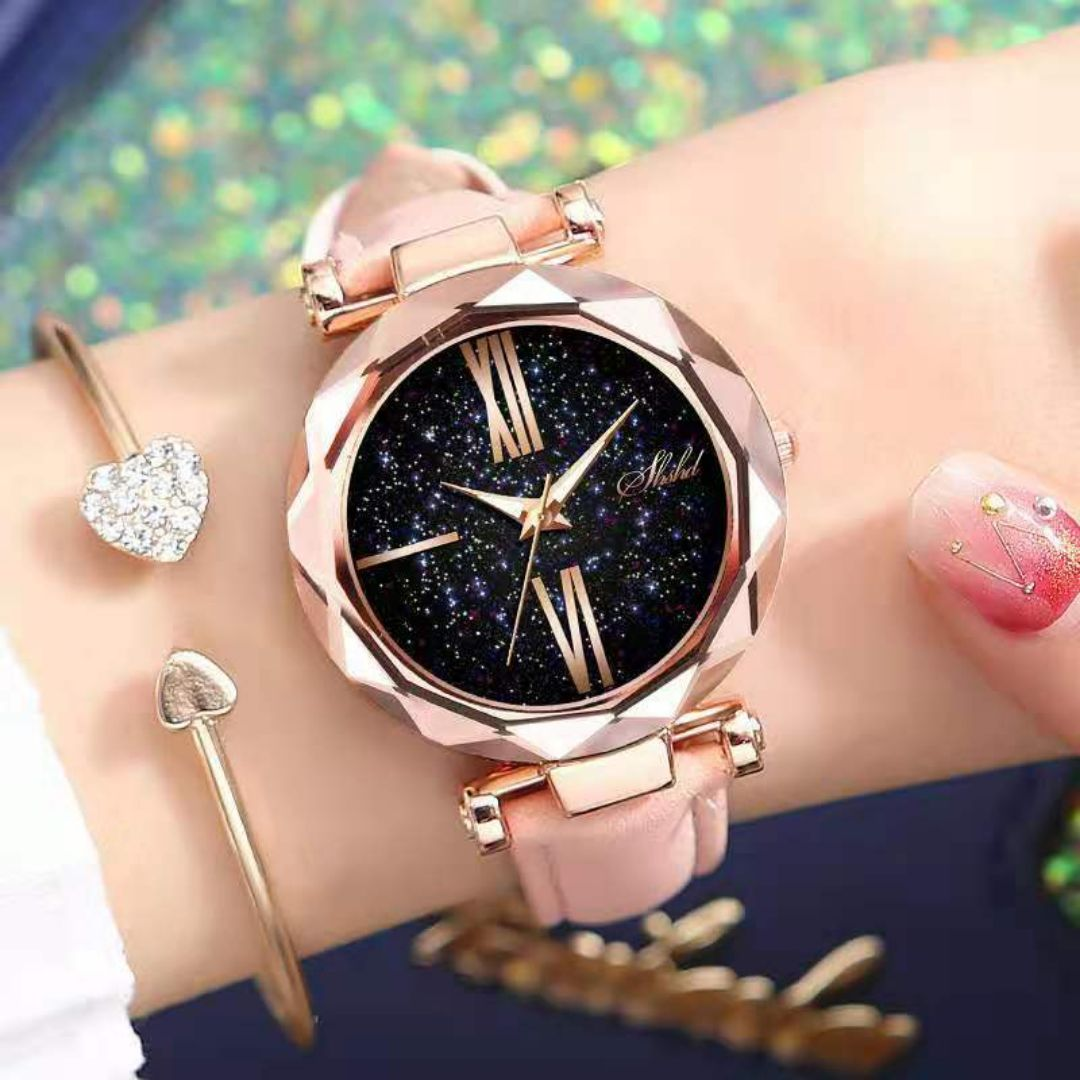 SHSHD Fashionable casual women's watch watches female atmospheric watches female students trend can