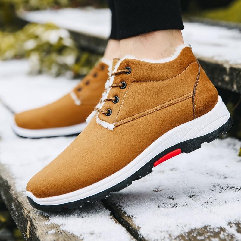 Light Running Shoes Comfortable Casual Mens Sneaker Warm Non-slip Wear-resistant Outdoor Walking Men Sport Shoes