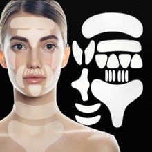 Reusable Silicone Wrinkle Face Tapes Face Forehead Neck Eye Sticker Pad Remove Anti Aging Patch Face
