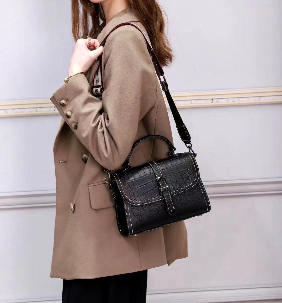 6 шт. оптом 2021 новый стиль женские роскошные дизайнерские сумки из натуральной кожи сумка через плечо
