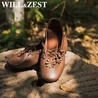 willzest ballet flats leather loafers platform mary jane vintage kawai shoes womens moccasins size 34 branded crossdresser