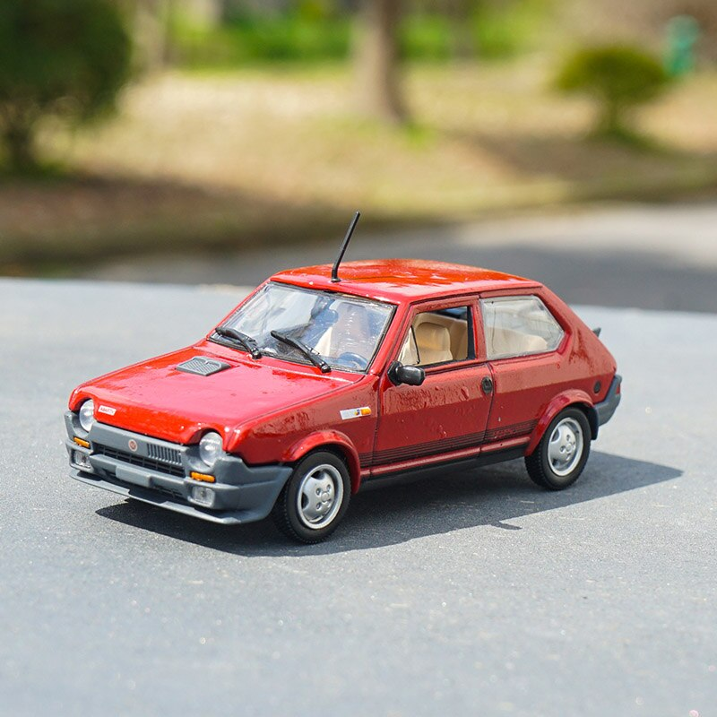 1/43 italiano Ritmo Abarth modelo de coche Retro juguete aleación colección juguetes clásicos vehículo